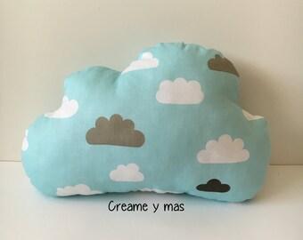 Stuffed cloud cushion