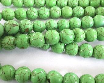 turquoise beads gemstone G1113