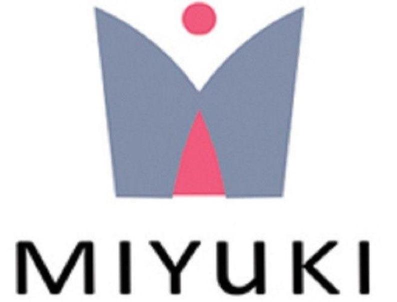 11-9357 Miyuki 110 Glass Round Seed Beads fushia lined yellow AB