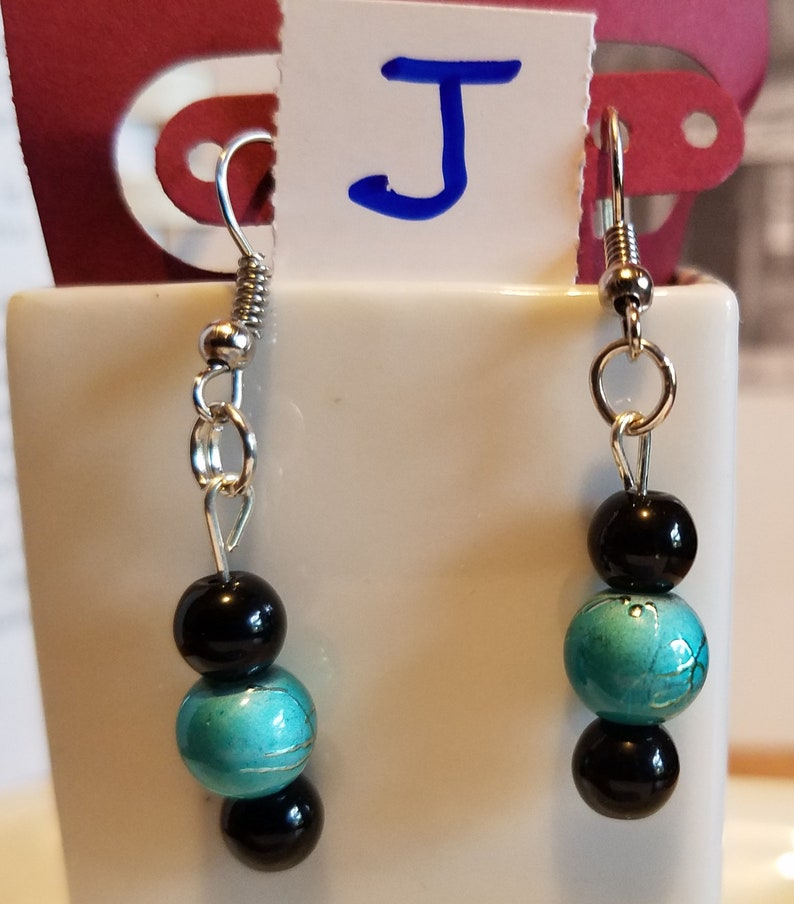8e4a8e131c4 JBD3 BEADS and more beads in more awesome color combinations, dangle  earrings, hook earrings