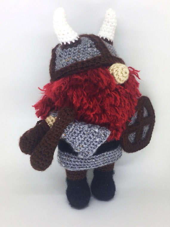 Viking Costume for Tommy Doll - CROCHET Viking Set PATTERN ... | 760x570