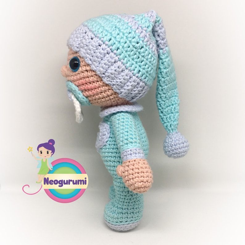 Snuggle Baby Amigurumi Crochet Doll Pattern