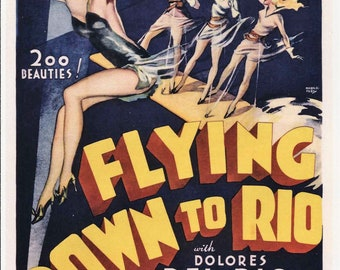 Flying down to Rio Ginger Rogers #2 movie poster