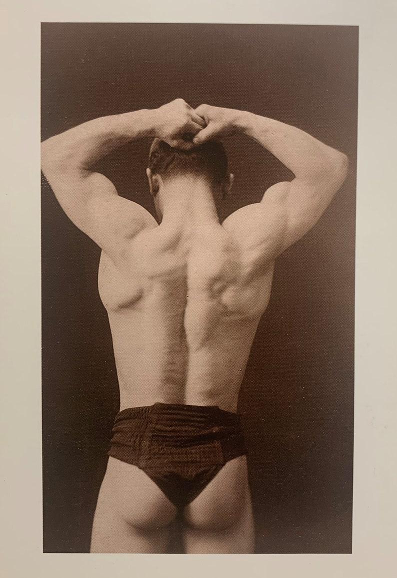 Gardiner Collection Men Photograph Modern Postcard R001547 Fabulous Butt Gay Interest Muscular