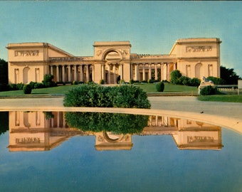 San Francisco CA, Palace of the Legion of Honor, Museum, Classic Chrome Vintage Postcard CA919552
