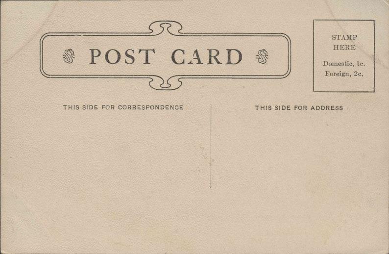 Missouri Original Old Vintage Postcard MO000560 Court House c1905 Unused Hannibal MO