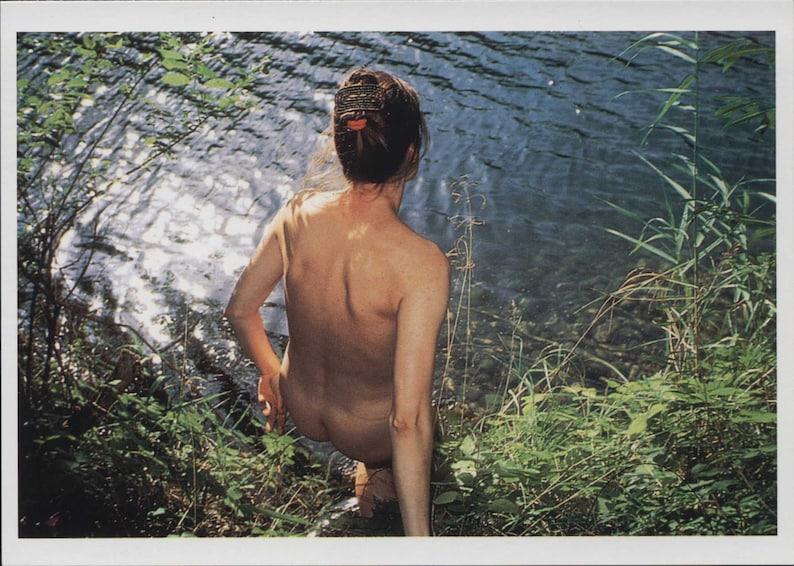 Photograph Nan Goldin Geno In The Lake Bavaria 1994 Modern Postcard R291809