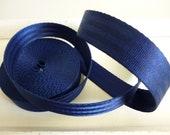 Seat belt dark blue 25 mm...