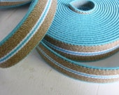 Rubber band Turquoise-bei...