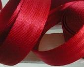 Car belt red 25 mm