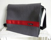 Bag, messenger bag, black...