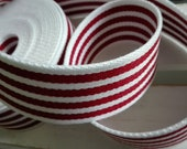 Webbing white - red strip...