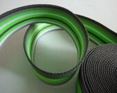 Webbing neon green stripe...