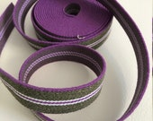 Rubber band purple-olive ...