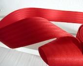 Car belt red 48 mm