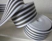 Tow band white-grey strip...