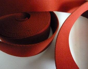 Strap rust-red 40 mm - 2.99 EUR / lfm