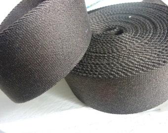 Webbing dark brown 40 mm - 2.85 EUR / lfm