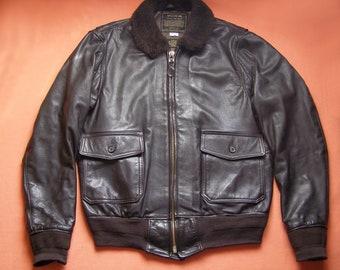 e712b47293d G-1 goatskin flight jacket