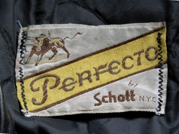 Schott Perfecto motorcycle jacket. - image 2
