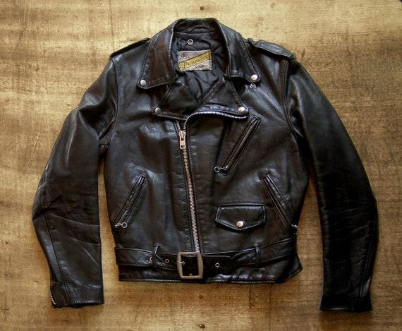 Schott Perfecto motorcycle jacket.
