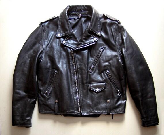 Vintage 80's Schott motorcycle jacket.