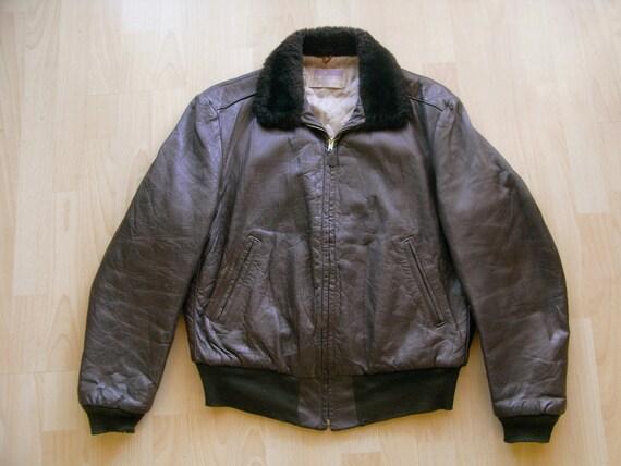40s goatskin civilian flight jacket by Californian