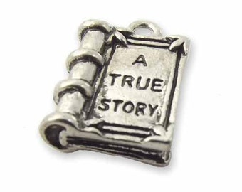 4 x true story book charms