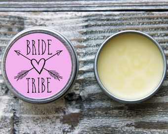 Bride Tribe Favors//Bride Tribe Gifts//Bachelorette Party Favors//Team Bride Favor//Bridesmaid Gifts//Lip Balm Favors