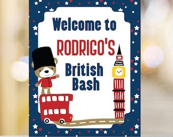 London welcome sign etsy british birthday welcome sign london printable welcome sign london birthday sign printable birthday sign london party birthday sign m4hsunfo