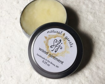 Signature Wood Ointment- Beeswax and Coconut Oil Blend