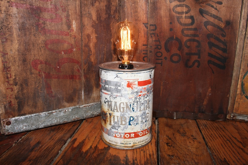 LampeDécoration Boîte ConserveMagnolia ChevetHomme Des LubriteVintage Huile De RustiqueRéutilisésRecyclésCréatifBureauTable 543LRjqA