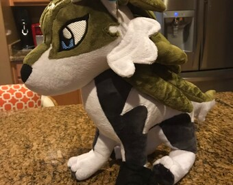 Wolf link plush toy made to order custom 0b3e9df13