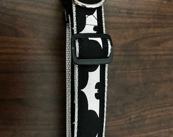 Dog collar, 1 inch Dog collar, Pet supplies, pet accesory, pet jewerly, Batman theme pet collar.