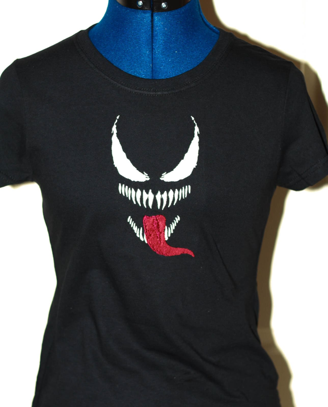 Custom Personalized Embroidered T Shirt Spiderman Movie Venom Etsy