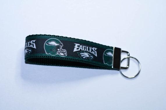 Eagles de Philadelphie football design, ruban bracelet télécommande grab porte-clé accessoire, don de moins de 5 dollars, panier-cadeau Saint-Valentin