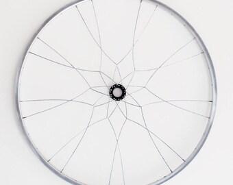 Kyela Wall Mandala | FREE SHIPPING | Bicycled Wall Art Made From Recycled Bike Parts | Gift for Cyclist | Ships same day!