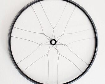 Bicycle home decor | Minna wall mandala | recycled bike wheel sculpture | bike gift | FAST & FREE SHIPPING!