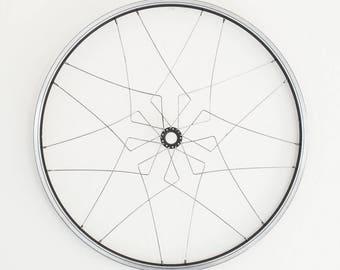 Bicycle home decor | Malacca wall mandala | recycled bike wheel sculpture | bike gift | FREE Priority Mail SHIPPING!