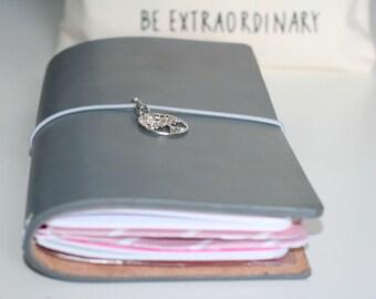 Notebook Travel Journal Ifidori Leather Various Sizes