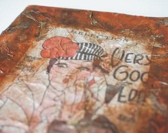 "Handmade Notebook Journal "" Nostalgia """