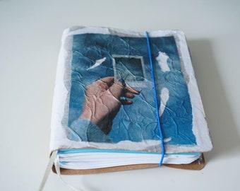 Handmade Notebook Journal Motif / Hand