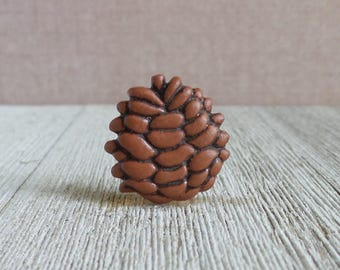 Pine Cone   Holiday   Forest   Scent   Fresh   Nature   Tree   Lapel Pin
