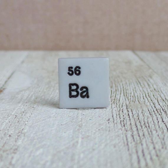 Chemical Element Barium Ba Chemist Science Teacher