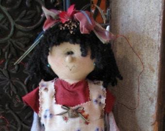 "Pattern: Ophelia - 23"" Fairy"
