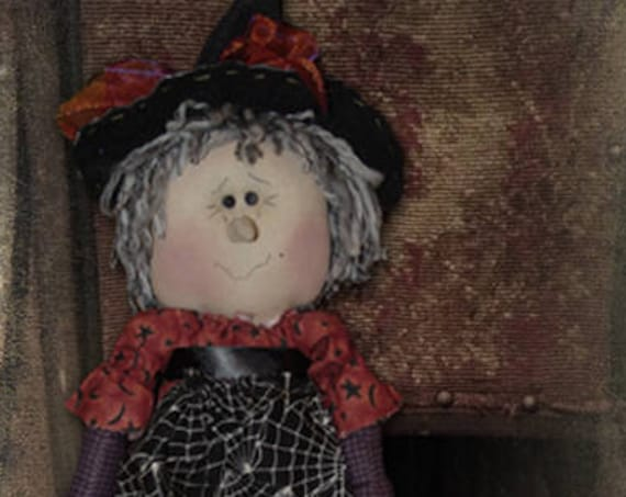 "Doll Kit: ""Wendy"" - 17""  Witch Rag Doll"