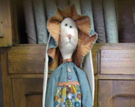 "Doll KIT: Millie - 36"" Prairie Bunny - Kit of supplies."