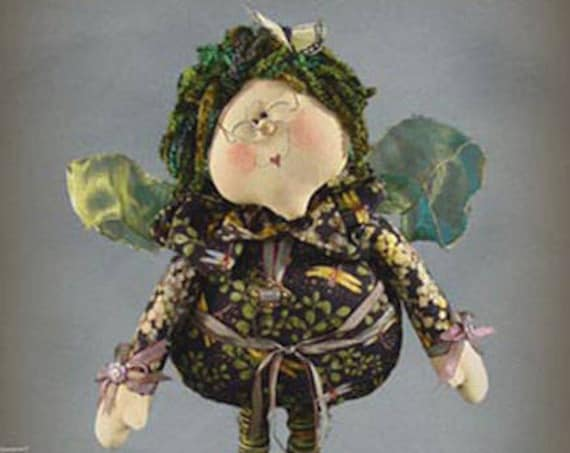 "Doll Kit: Ms Jillian - 22"" Irish Fairy"