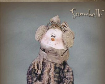 "Pattern: Snowbelle - 30"" Snow Lady"