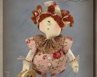 "Doll Kit: Valentines Edition!! Sassafrass - 18"" Sewing Elf"